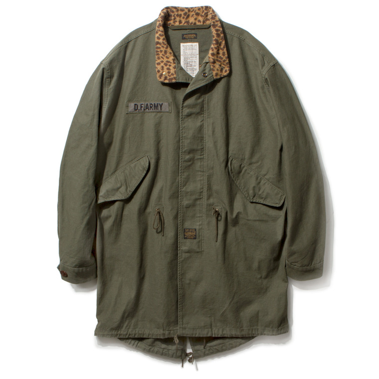"DV. LOT449 ""B.R"" M-65 FISHTAIL FIELD PARKA -SAGE GREEN-"