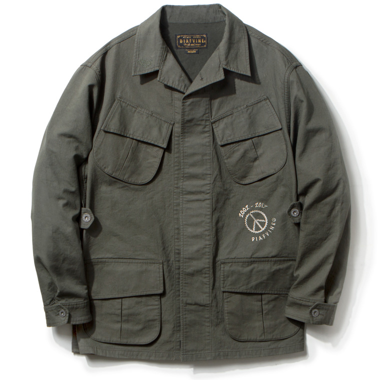DV. LOT466 JUNGLE FATIGUE JACKET TYPE-2