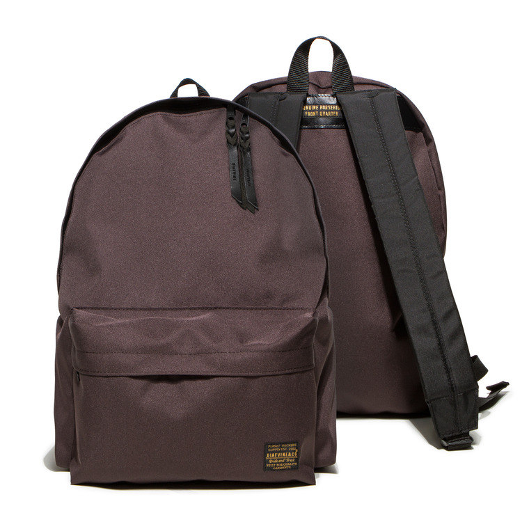 DV. LOT467 CODURA DAYPACK -CHOCOLATE-