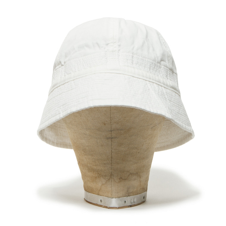 DV. LOT493 COTTON SAILOR HAT-WHITE-