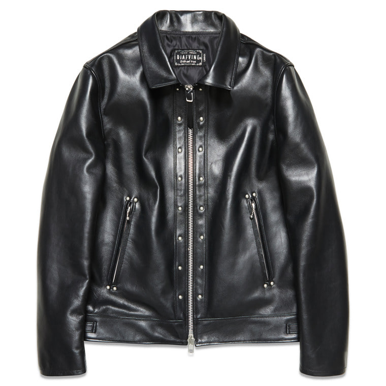 "DV.LOT 509 ""STUDDED LEATHER JACKET""(STEERHIDE)"