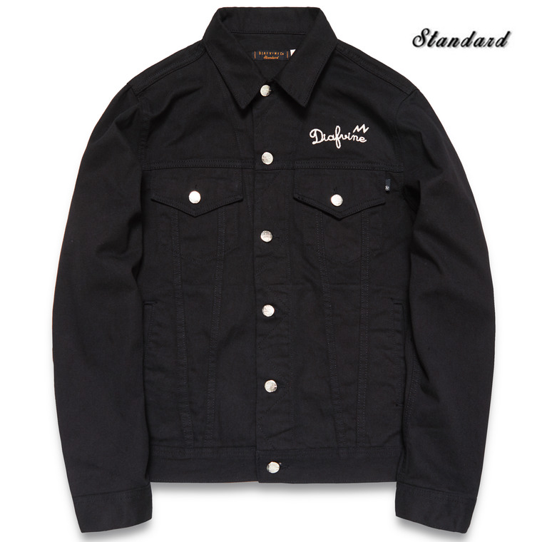 DV. LOT510 DENIM TRUCKER JKT TYPE.3 -BLACK-