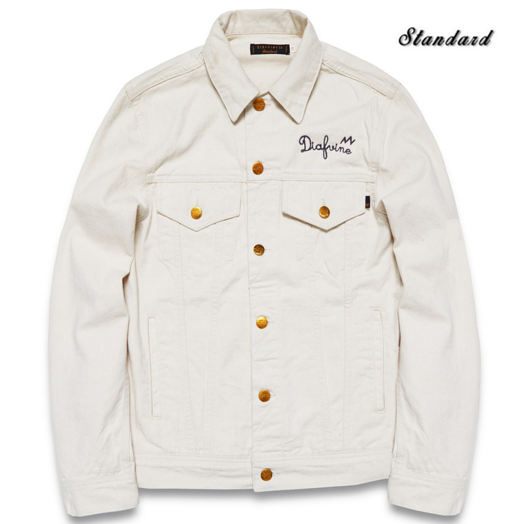 DV. LOT510 DENIM TRUCKER JKT TYPE.3 -WHITE OAK-