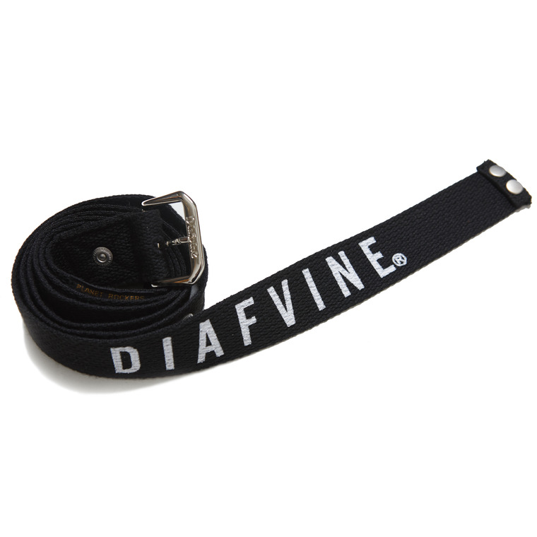 DV.LOT.523 SLOGAN WEAVING BELT-BLACK-