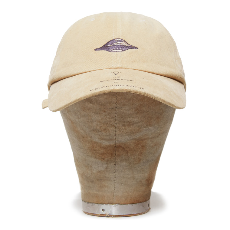 "DV. LOT524 ""WASHED COTTON BALLCAP""-GRAPHIC BEIGE-"