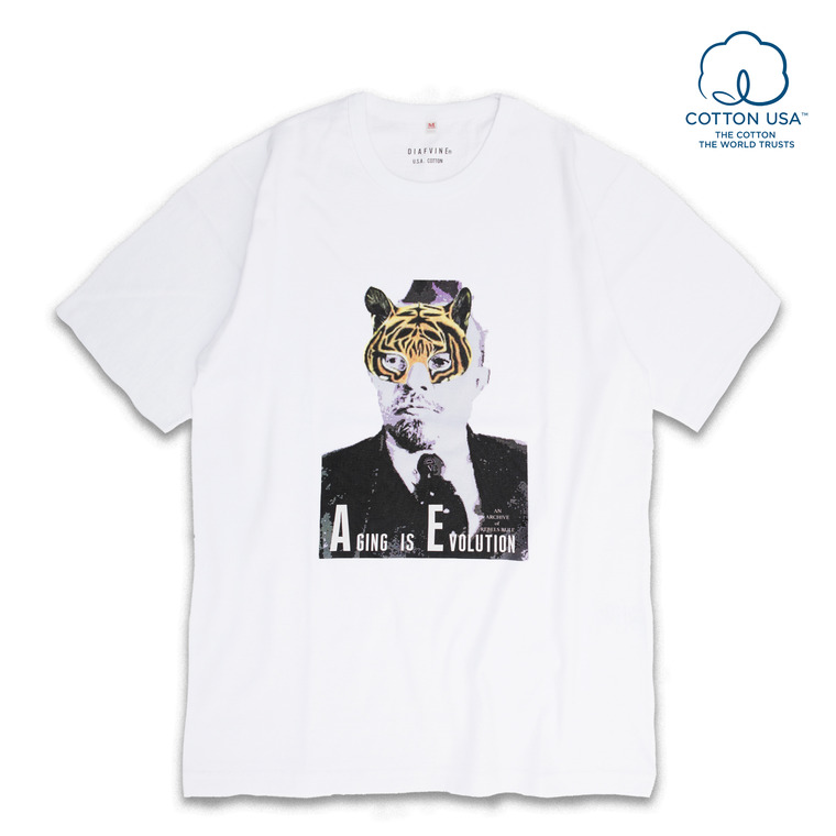 DV.LOT.515 T.M GRAPHIC TEE -WHITE-