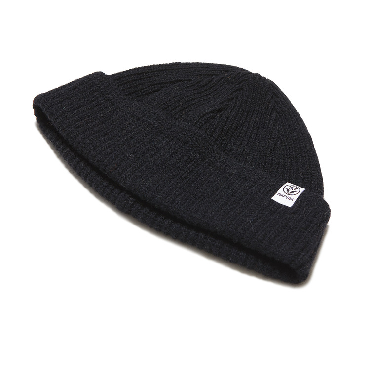 DV. LOT554 WOOL WATCH CAP -BLACK-