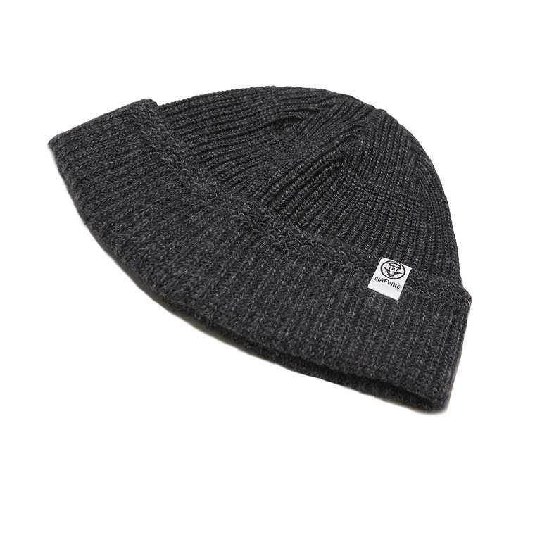 DV. LOT554 WOOL WATCH CAP -CHARCOAL-