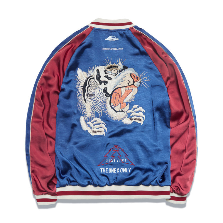 "[SALE 15%]DV. LOT542 ""REVERSIBLE SOUVENIR JACKET""-BLUE&RED-"