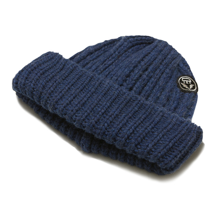[SALE 10%]DV. LOT 553 WOOL LONG BEANIE -INDIGO-
