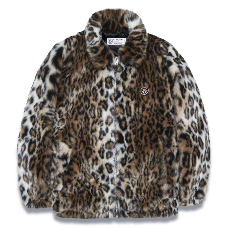 DV. LOT562 FAUX FUR JKT -LEOPARD-
