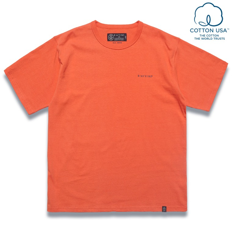 DV. LOT583 DESIGN TEE / TYPE-1 -ORAGE-
