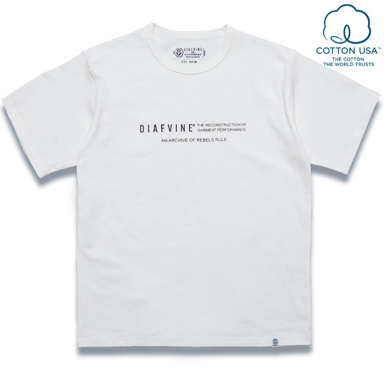 DV. LOT584 DESIGN TEE / TYPE-2 -OFF WHITE-