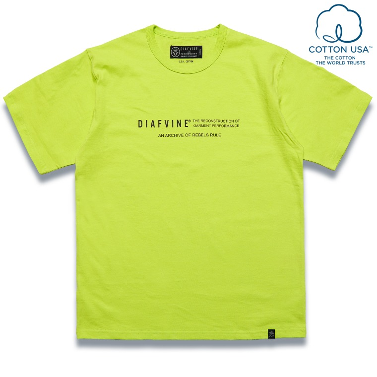 DV. LOT584 DESIGN TEE / TYPE-2 -NEON-