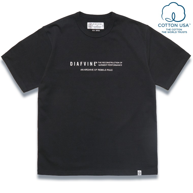 DV. LOT584 DESIGN TEE / TYPE-2 -BLACK-