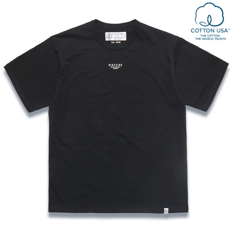 DV. LOT585 DESIGN TEE / TYPE-3 -BLACK-