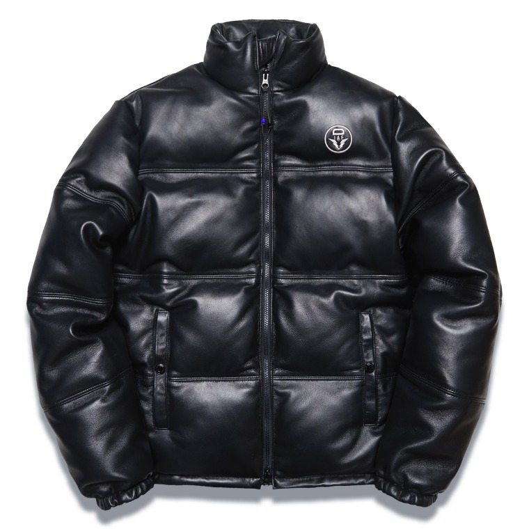 "DV. LOT565 ""ARMOR"" LAMBSKIN DUCKDOWN JKT -BLACK-"