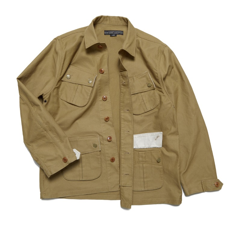 DV. LOT602 Fatigue Jacket -SAND-