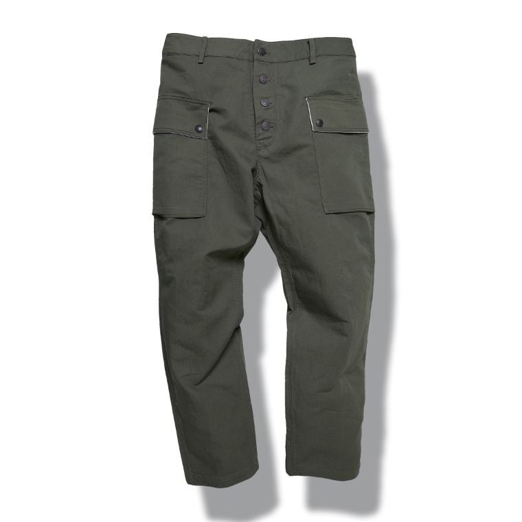 DV. LOT605 Type P-44 Pants (Tapered Fit) -KHAKI-