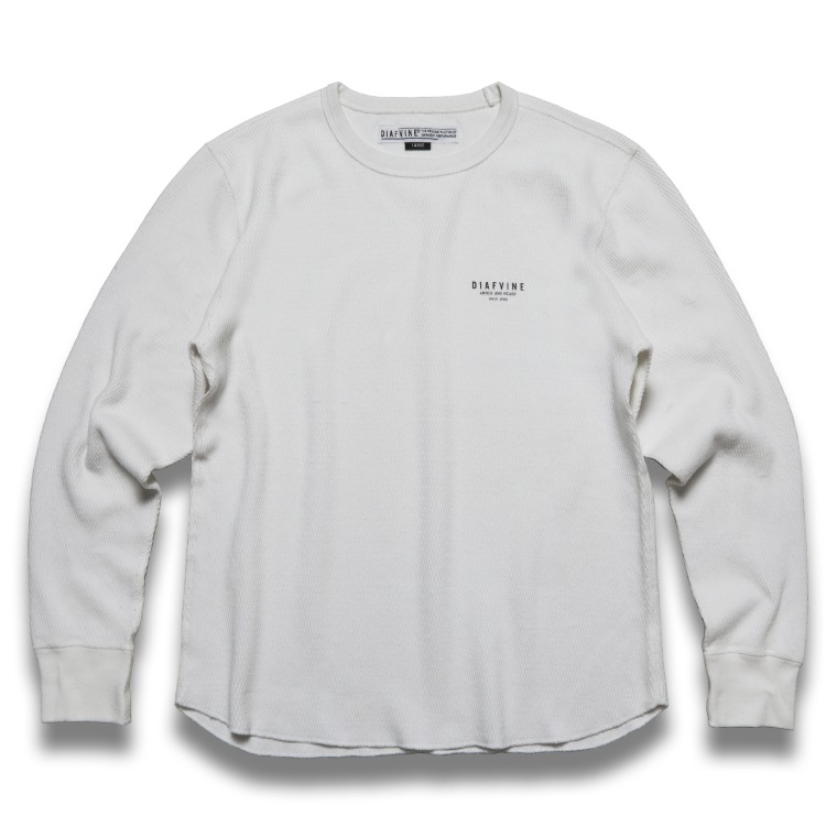 DV. LOT 624 HEAVY WEIGHT THERMAL L/S -WHITE-