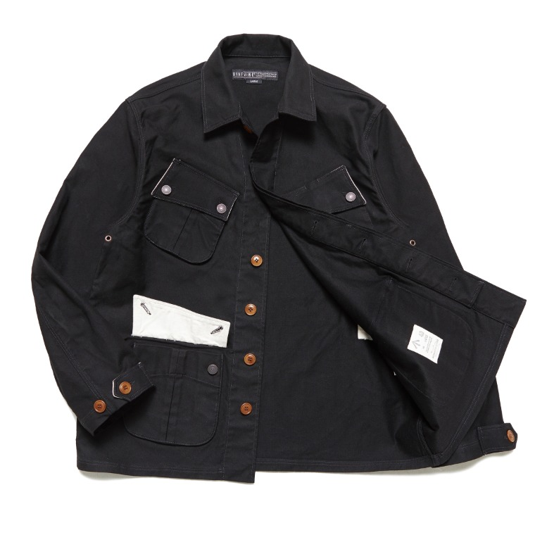 DV. LOT602 Fatigue Jacket -BLACK-