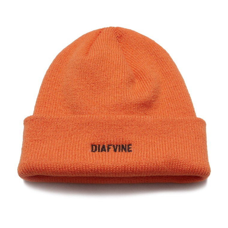 DV.LOT 641 Logo Beanie -ORANGE-