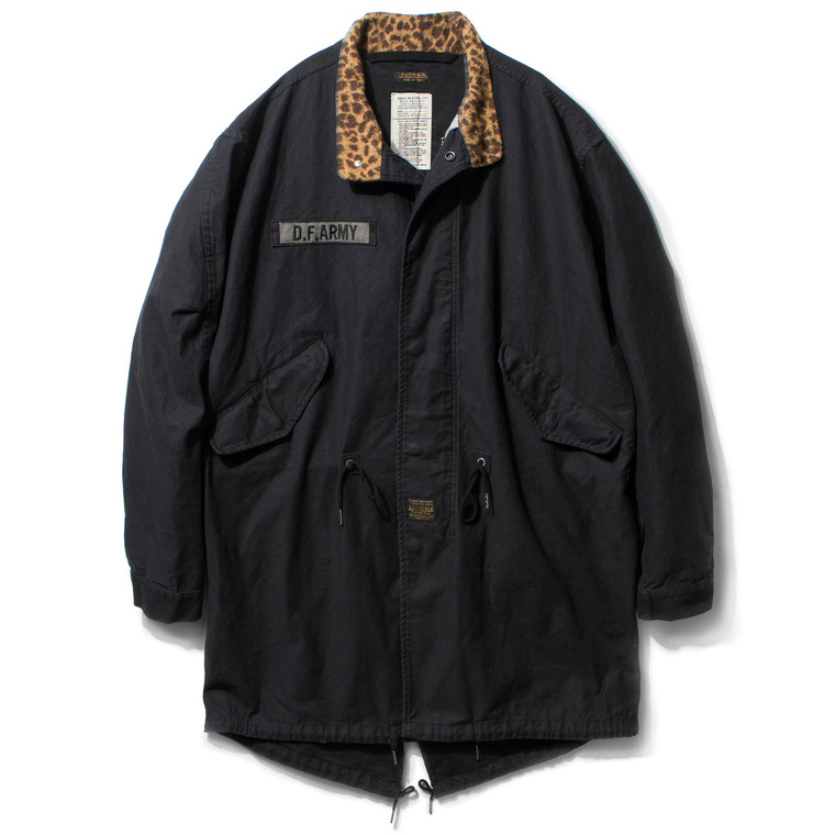 "DV. LOT449 ""B.R"" M-65 FISHTAIL FIELD PARKA -NAVY BLACK-"