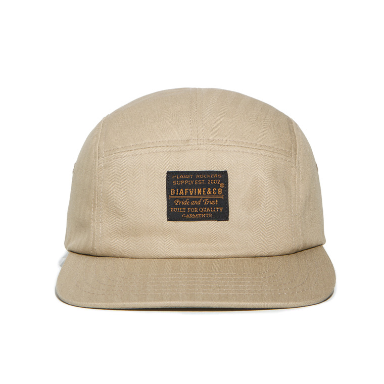 DV. LOT470 COTTON CAMP CAP -BEIGE-