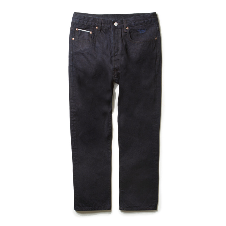 DV. LOT468 5P SELVEDGE DENIM PANTS -PURE INDIGO-
