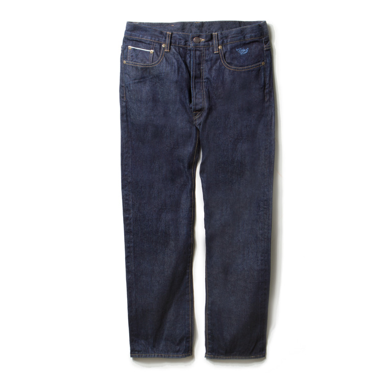 DV. LOT468 5P NEP SELVEDGE DENIM PANTS -INDIGO-