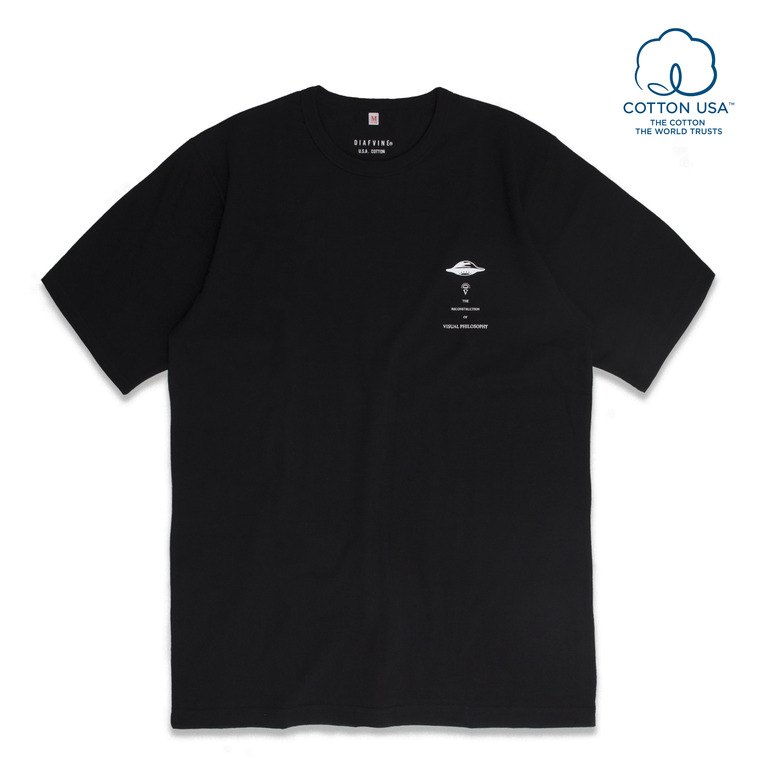 DV.LOT516 S.C GRAPHIC TEE -BLACK-