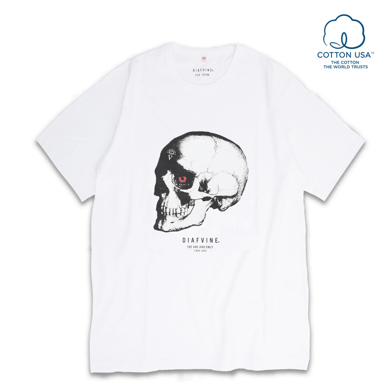 DV.LOT.517 S.K GRAPHIC TEE -White-