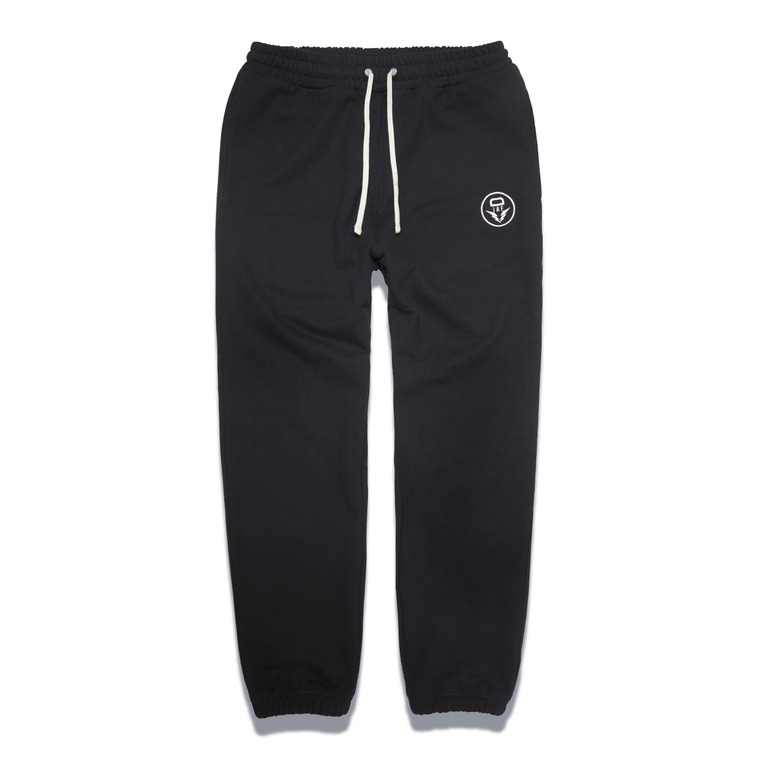 DV. LOT548 HEAVY WEIGHT SWEAT PANTS -BLACK-