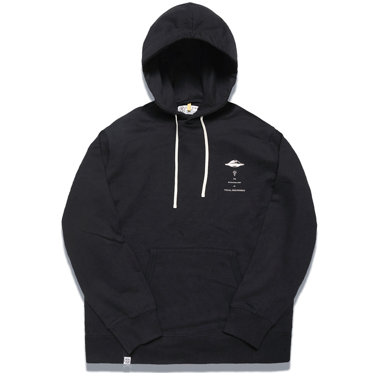 DV. LOT547 HEAVY WEIGHT SWEAT HOODIE -BLACK-
