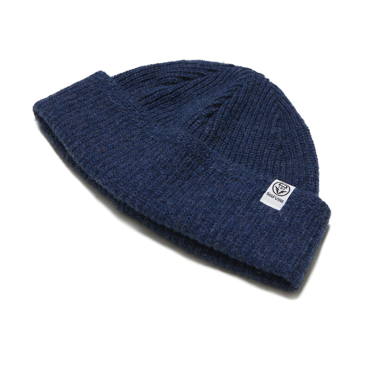 DV. LOT554 WOOL WATCH CAP -INDIGO-