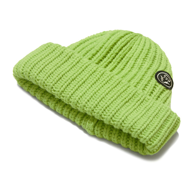 DV. LOT 553 WOOL LONG BEANIE -LIME-