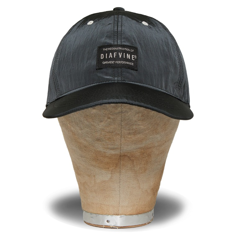 DV. LOT581 NYLON 6P BALLCAP TYPE 2 -CHARCOAL-
